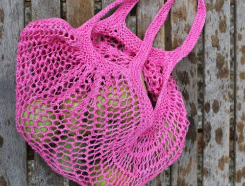 Einkaufsnetz Edda in pink